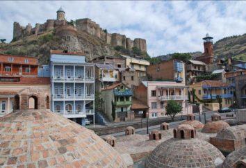 bagni di zolfo a Tbilisi: una descrizione di dove sono, recensioni