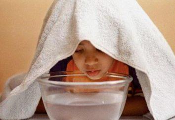 Cómo inhalación de un resfriado para los niños?