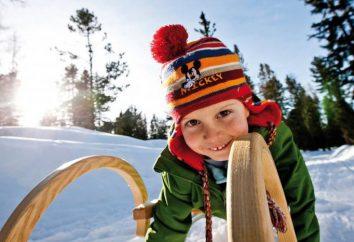 Aktywne wakacje w zimie w Moskwie w weekend z dziećmi