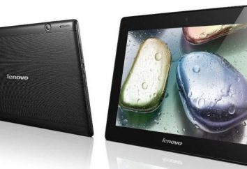 Lenovo IdeaTab S6000 tablette: description, caractéristiques générales. Tablette de micrologiciel