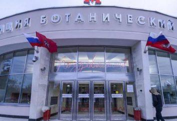 """Die U-Bahn-Station """"Botanischer Garten"""" (Moskau, Russland) Fotos, Beschreibung"""