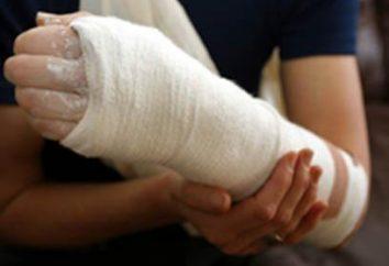 Comment être et ce qu'il faut faire si vous avez cassé son bras?