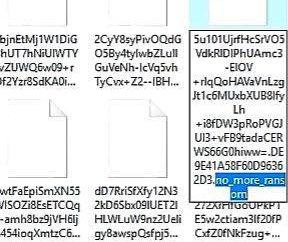 NO_MORE_RANSOM – come decifrare i file crittografati?