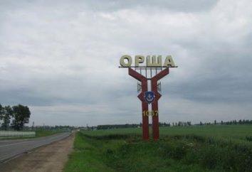 Orsha – Vitebsk: tren, autobús, tren