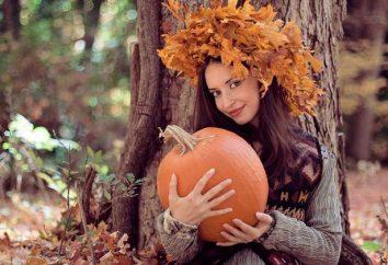 Herbst-Foto-Shooting: Ideen für Mädchen. Wie die Erinnerung an die Verabschiedung des Herbstes zu halten?