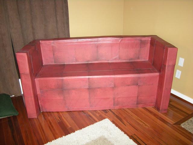 C mo hacer muebles de cart n para mu ecas patrones - Imagenes de muebles de carton ...