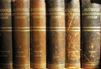 Qu'est-ce qu'une encyclopédie: les types de valeur