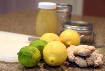 Gengibre, mel, limão – para apoiar a imunidade.