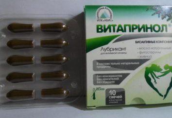 """""""Vitaprinol"""" (świeca): Opinie lekarzy, instrukcje użytkowania"""