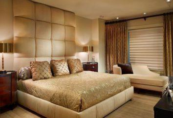 Schlafzimmer in Beige-Tönen: Beratung über die Registrierung und interessante Ideen