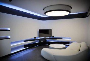 tira de LED en el interior: características de aplicación