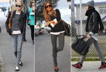 jeans grigio per gli uomini e le donne