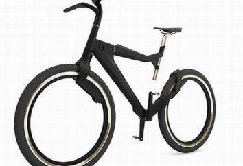 bicicleta híbrida como um transporte para uma caminhada agradável