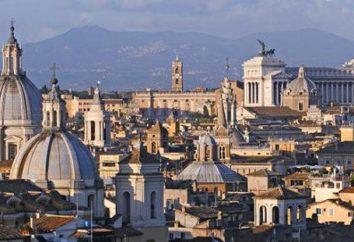 Le nombre de la population de Rome. Description, ville caractéristique