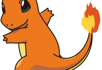 Charmander Evolution. Descrição e características do Pokemon