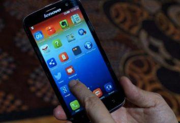 Lenovo A859 – opiniões. Smartphone Lenovo A859 Branco