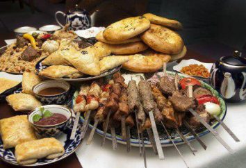 cozinha Uzbek: receitas. prato nacional uzbeque de carne