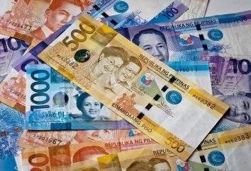 Peso filipino. La historia de la unidad monetaria. Aspecto de los billetes y monedas