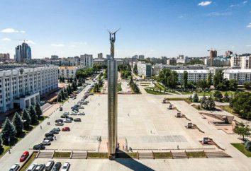 Pomnik Chwały, historii Samara i zdjęcia