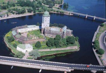 Château médiéval de l'histoire Vyborg, adresse, Festival