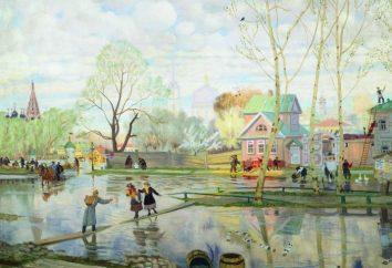 """malowanie Kustodiev za """"Carnival"""" i innych znanych dzieł i biografii artysty"""