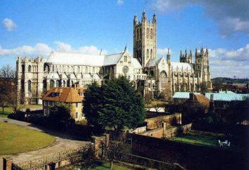 Cathédrale de Canterbury (UK): description, photo