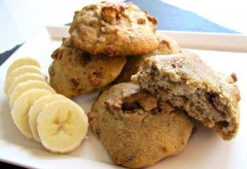 Bonbons sans sucre: recettes. douceur naturelle. les cookies de la banane. gâteau de palme