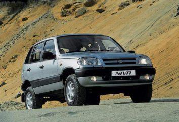 couleurs arc-en-: « Chevrolet Niva » dans diverses nuances