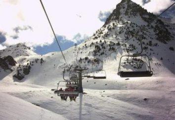 Les célèbres stations de ski en Espagne