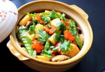 Legumes cozidos com cogumelos: receitas para caçarolas, multivarka, manga