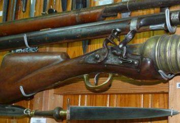 arma Matchlock. A história de armas de fogo