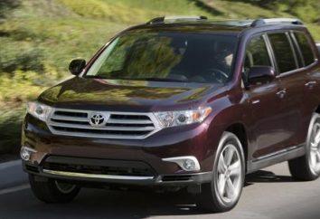 "Przegląd SUV ""Toyota Highlander"""