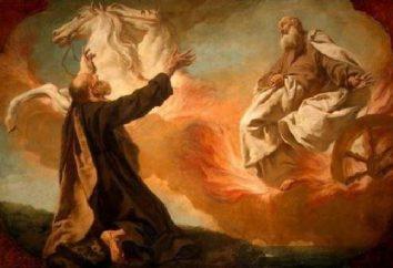 O profeta Eliseu vida, ícone, oração Akathist