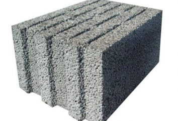 bloc d'argile expansée: caractéristiques, dimensions, prix. Construction bloc de béton