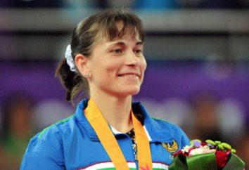 Hier ist der Rekord: die 40-jährige Turnerin wird zu den Olympischen Spielen in Rio