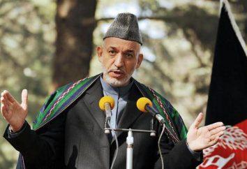 Il presidente afghano Hamid Karzay: biografia