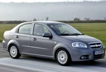"""Chevrolet Aveo"" (sedan): a revisão do modelo"