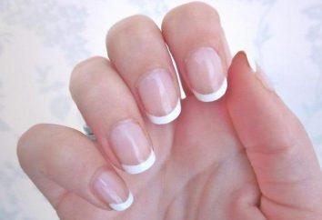 Varie forme di realizzazione French manicure