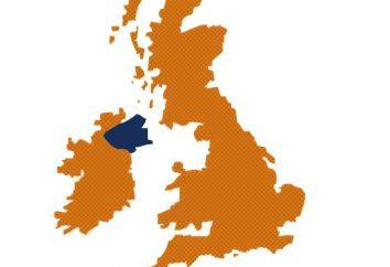 Il numero e la popolazione dell'Irlanda del Nord