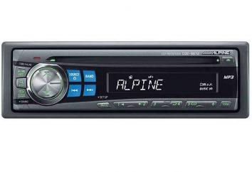rádio japonesa Alpine