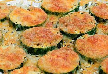 courgettes cuisson avec du fromage et des tomates au four