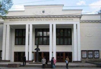 Teatr Opery i Baletu (Niżny Nowogród): teatru, repertuar trupy za