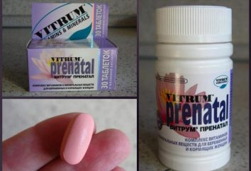 """vitamine prenatali """"Vitrum prenatali"""": recensioni, guida la composizione"""