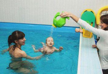 """Pool """"Zhemchuzhinka"""" (Tjumen). Akvaklub ideal für Kinder und schwangere Frauen"""