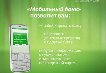 Sberbank, « économie » paquet bancaire mobile: avis