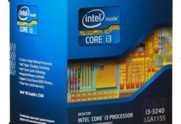Intel Core i3-3240 Procesor: charakterystyka, badania, opinie, cena