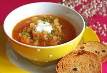 Magra ma gustoso – zuppa vegetariana