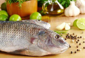 Calorias: costeletas de peixe. Caloria cozinhado peixe bolos