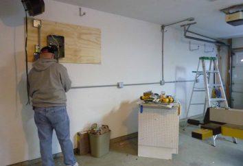 Okablowanie w garażu: montaż własnymi rękami