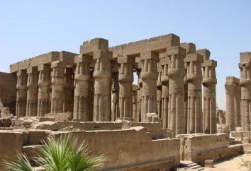 Luxor-Tempel: Beschreibung und Fotos